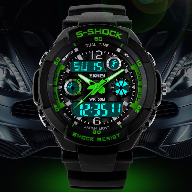 2016 font b Men b font Quartz Digital Watch font b Men b font Sports Watches