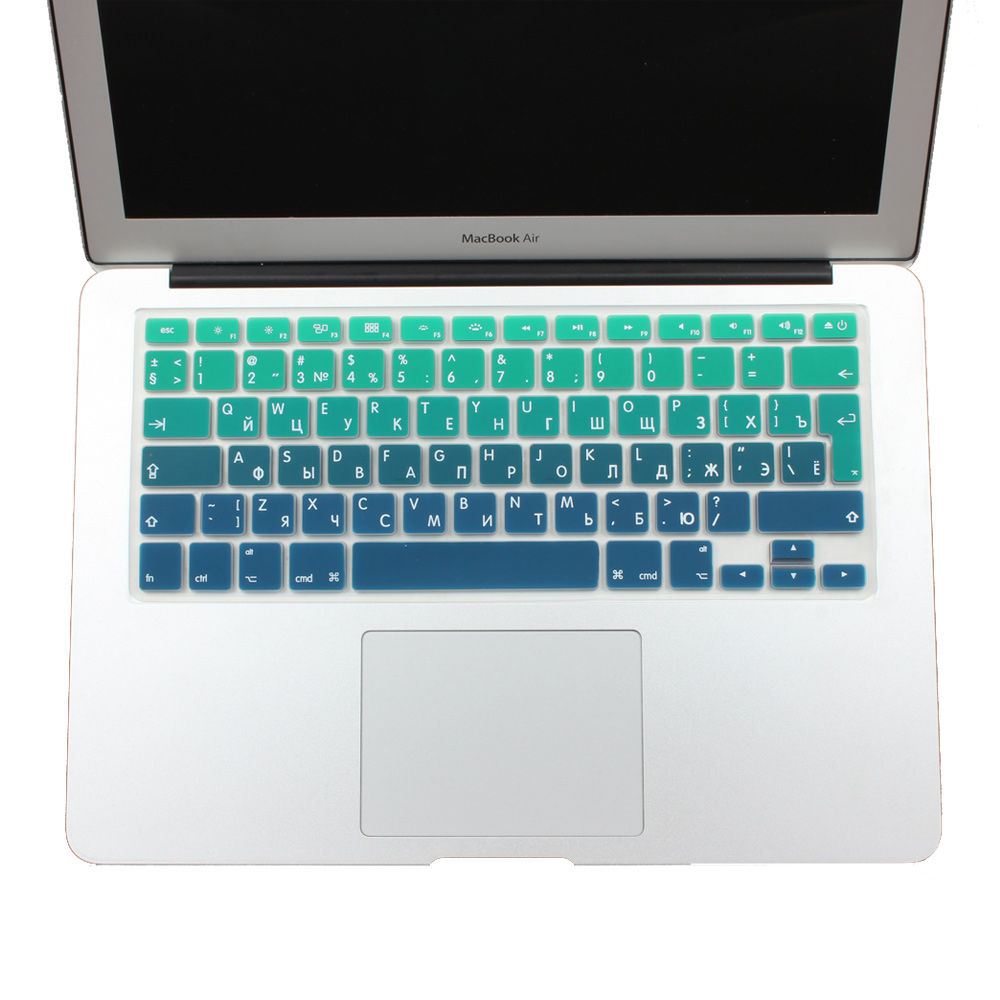 """2011-2014 USA Silicone Keyboard Skin Cover For Apple Macbook Air 13/"""" 15/"""" inch"""
