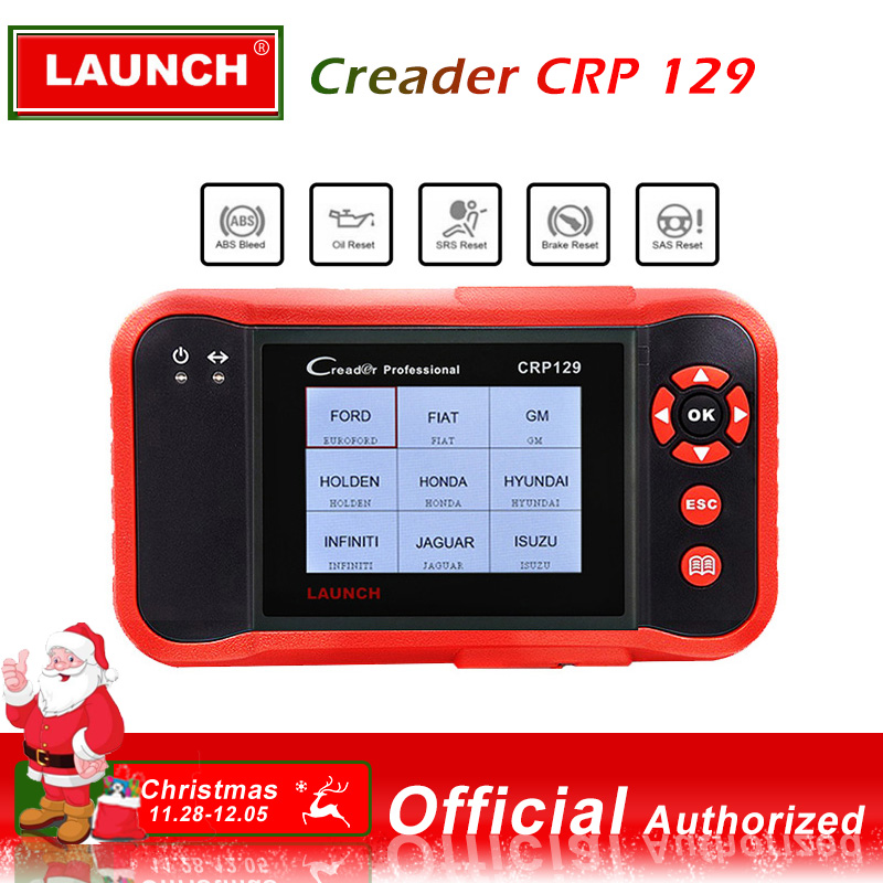 LAUNCH CRP129 Scanner Automotivo obd2 OBD obd 2 Car Code Reader Scan Tool Pro 2018 Launch X431 VIII Auto OBDII Diagnostic Tool