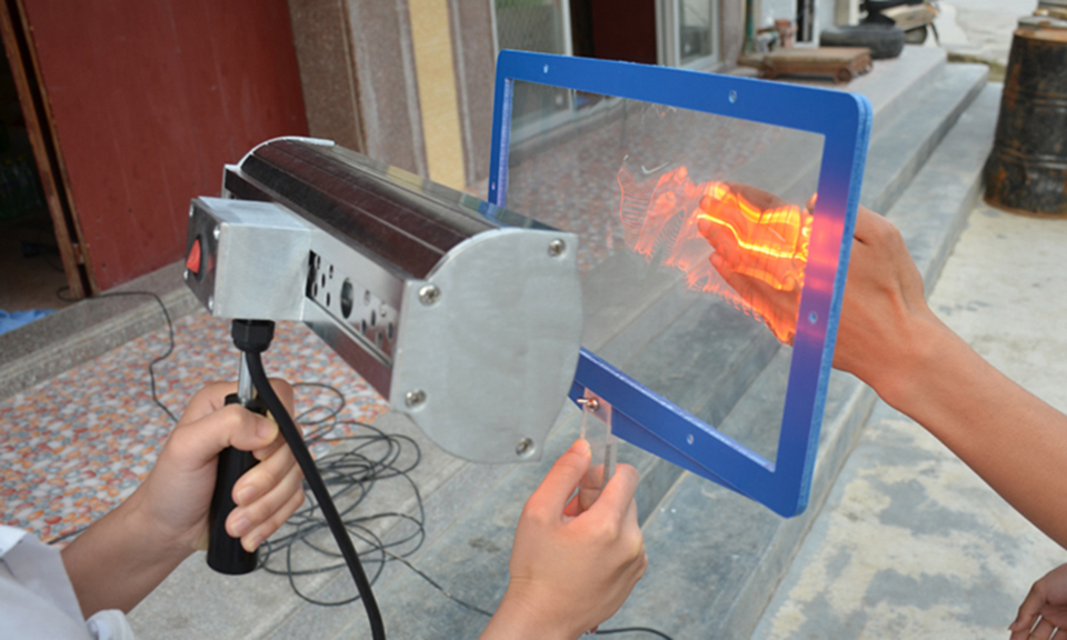 Image 5 - Hand hold Window Tint Sun solar Film heat Test panel For Window Film Heat Test Heat rejection performance Demo KD 01B