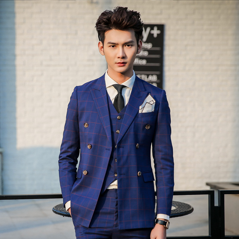 Blue Full Suit Dress Yy