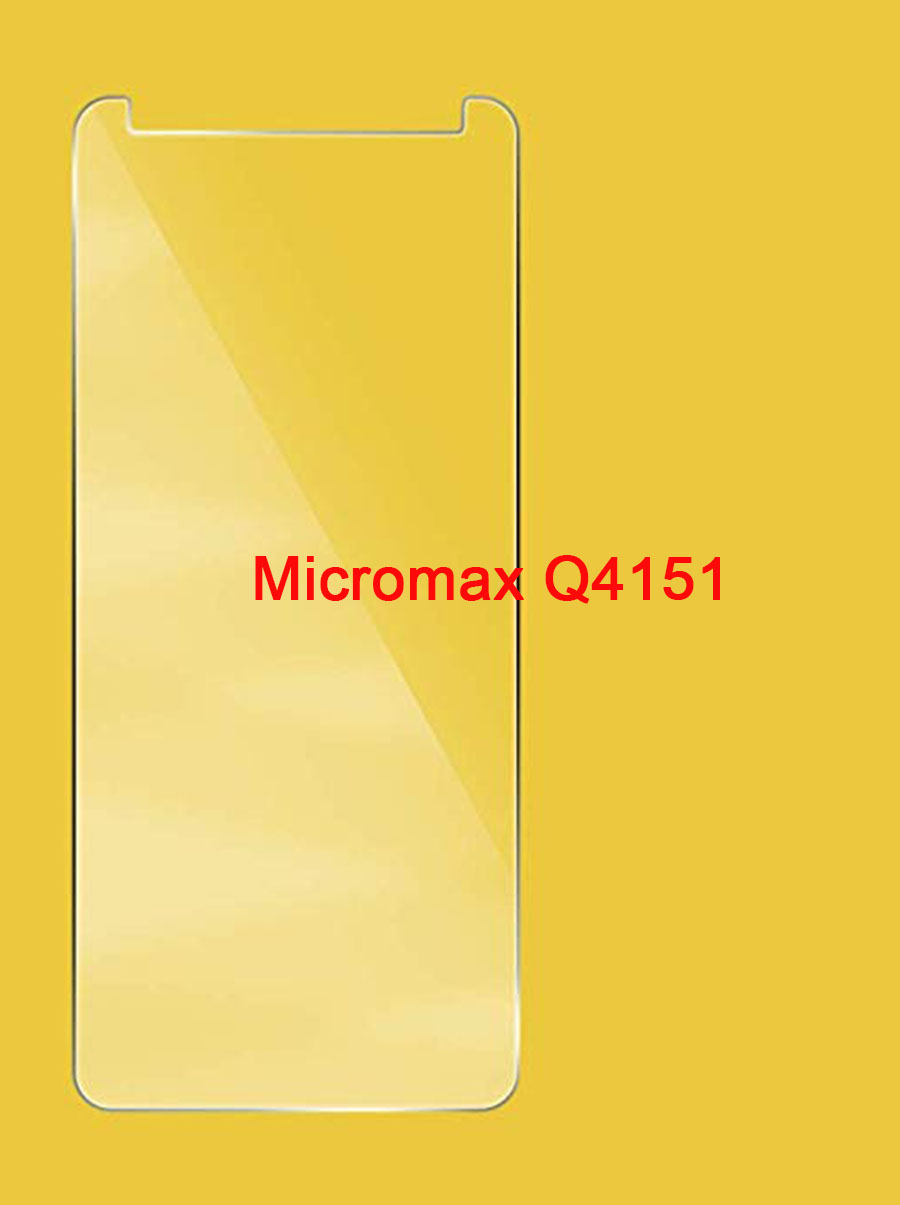 Tempered Glass 9H Screen Protector Film For Micromax Q4151 Smartphone