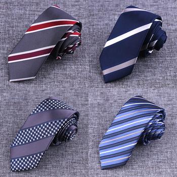 Nowe markowe krawaty męskie modne w paski krawaty krawaty Gravata żakardowe 6cm wąski krawat krawat ślubny dla mężczyzn Corbatas Hombre 2016 tanie i dobre opinie Plaid GUSLESON Poliester Mens Brand Neck tie 150633 Moda Szyi krawat Jeden rozmiar Dla dorosłych 145cm*6cm*3 5cm Print Dot Striped Plaid Floral