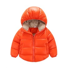 Boys Jacket winter coat Children's outerwear winter type child girls and boys heat cartoon coat garments for 1-7years