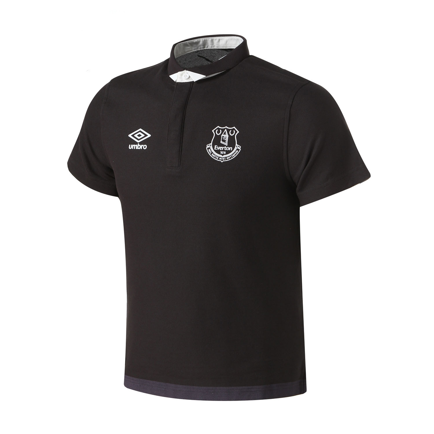 Umbro Short Sleeved Everton Polo Shirt Outdoor Sport Shirts Breathable Men Short Sleeves ...