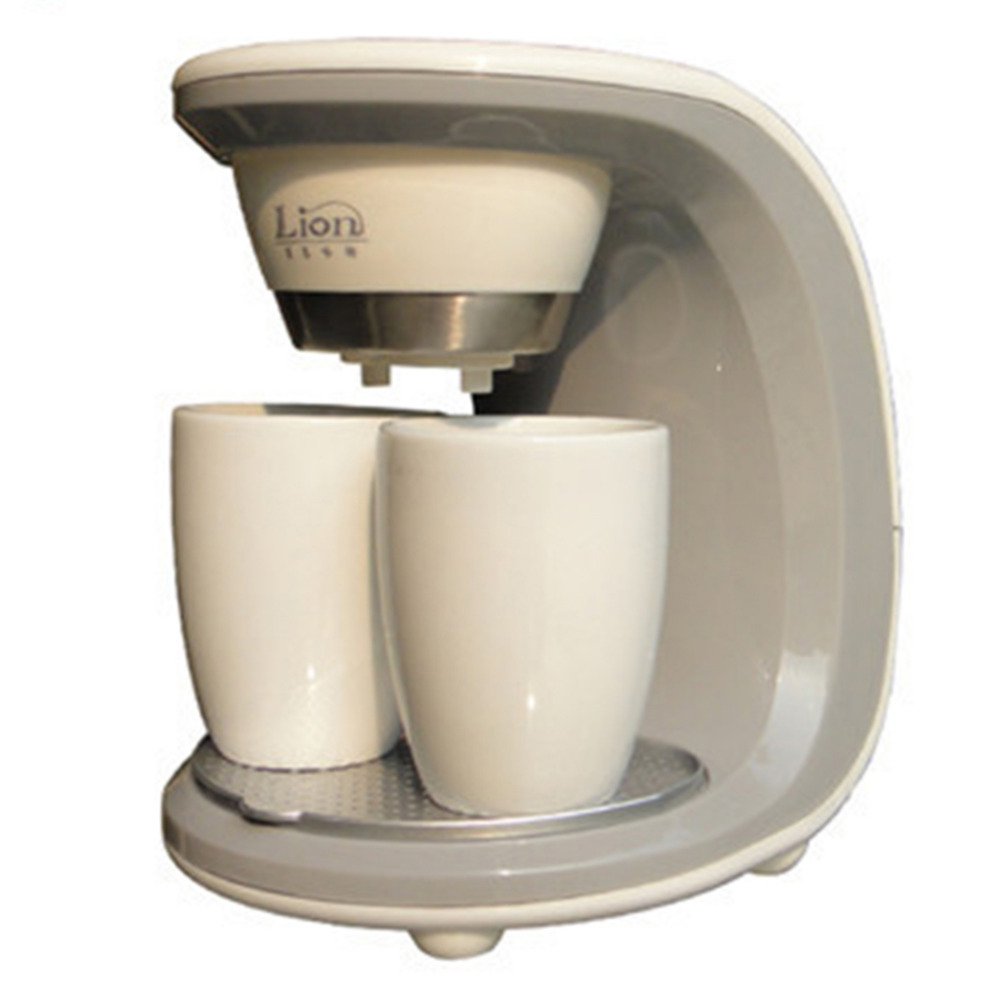 Glantop High Quality 2 Cups Coffee Machine( Ceramic Cup),American or Nescafe Drip Coffee Maker ...