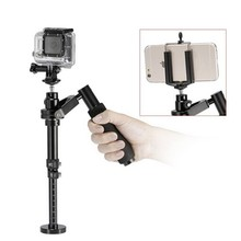 YELANGU S100 Handheld Stabilizer for Steadicam for Iphone 6 / 7 plus Smartphone/ GoPro HERO5 Session / HERO 5 / 4 Max Load 0.5KG