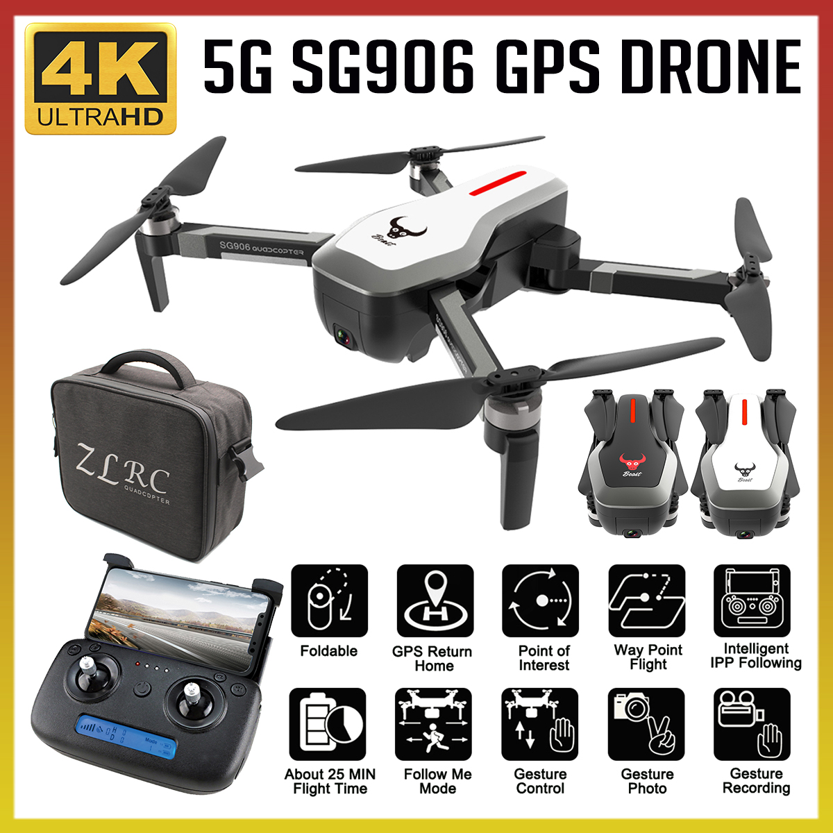 d4fc5a536b117 Worldwide delivery sg906 mini drone gps 5g wifi fpv in NaBaRa Online