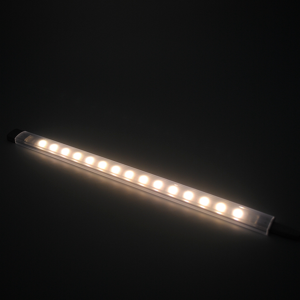 2sets 50cm length 12v led under cabinet lighting aluminum profile led strip light bar for. Black Bedroom Furniture Sets. Home Design Ideas