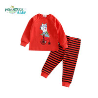 Children Clothes Autumn Baby Girl Boy Clothing Sets Roupas Infantis Cartoon Kids Clothes Long Sleeve T