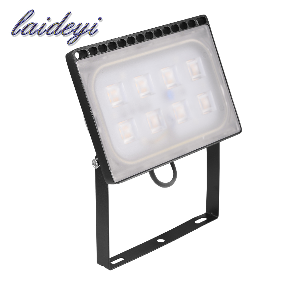 LAIDEYI 50W LED Flood Light Warm Cold White Outdoor Security Garden Landscape Spotlight Led Reflector Wall