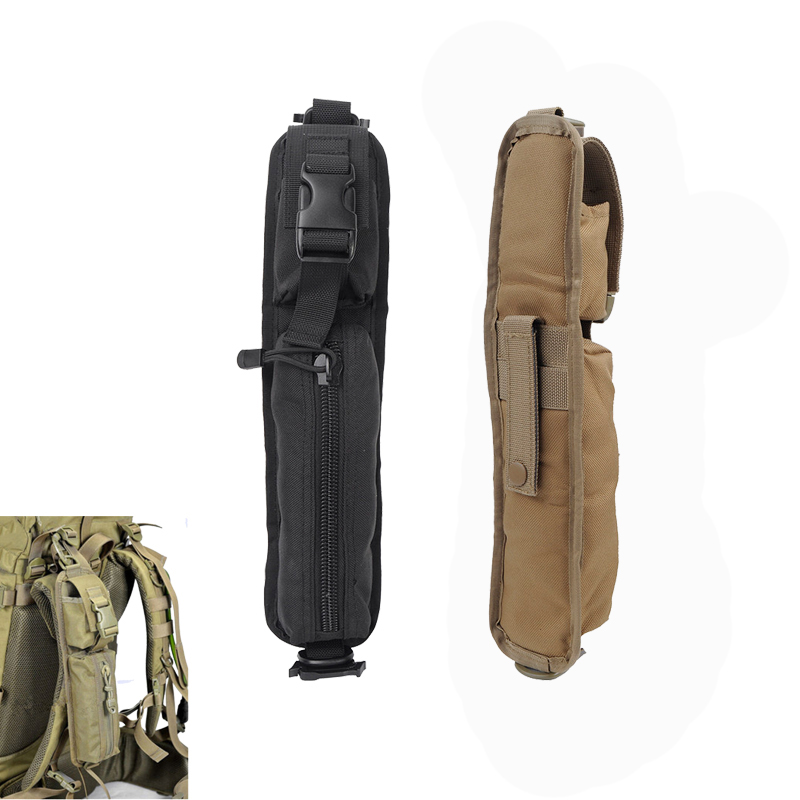 2pcs/pack Military Molle Sundries Accessory Bag Tactical Backpack Shoulder Strap Pouch Outdoor EDC Tool Bag Belt Duty Gear Pouch outdoor military tactical waist bag multifunctional edc molle pouch tool zipper waist pack accessory durable belt pouch