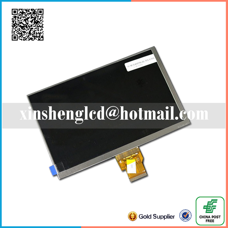 New LCD Display Matrix For 7 AL0749A TABLET 30Pins 163*97mm inner LCD Screen Panel Lens Module replacement Free Shipping new lcd display matrix for 7 supra m72kg 3g inner 163 97mm lcd screen panel lens tablet module replacement free shipping