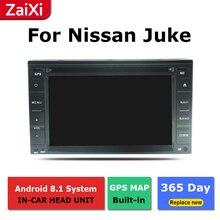 ZaiXi android car dvd gps multimedia player For Nissan Juke F15 2010~2018 car dvd navigation radio video audio player
