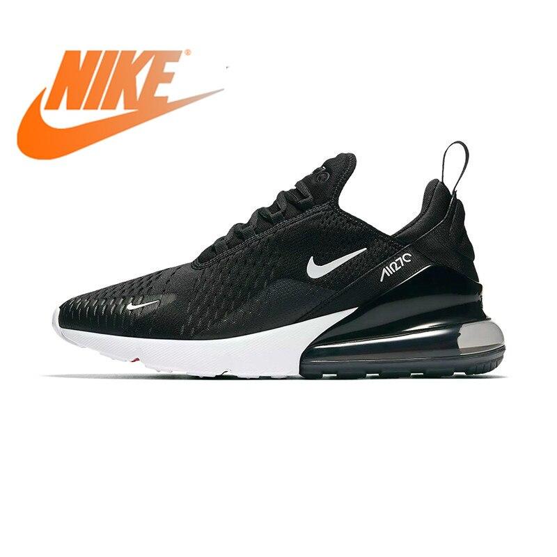 Оригинальная продукция Nike Air Max 270 для мужчин's кроссовки Спортивная обувь Открытый 2018 Новое поступление Аутентичные дышащие дизайнерские