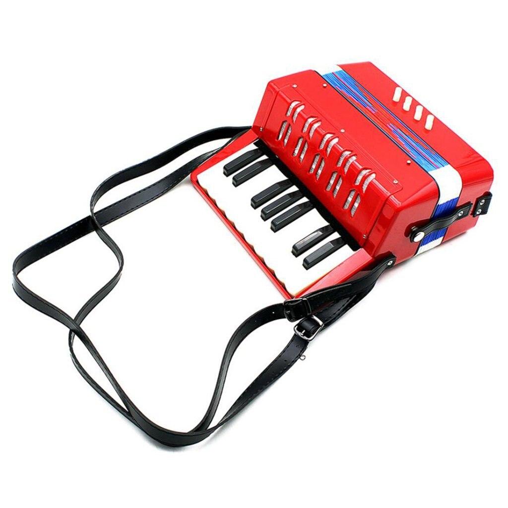 Instrumento musical de piano, 17 teclas, baixo,