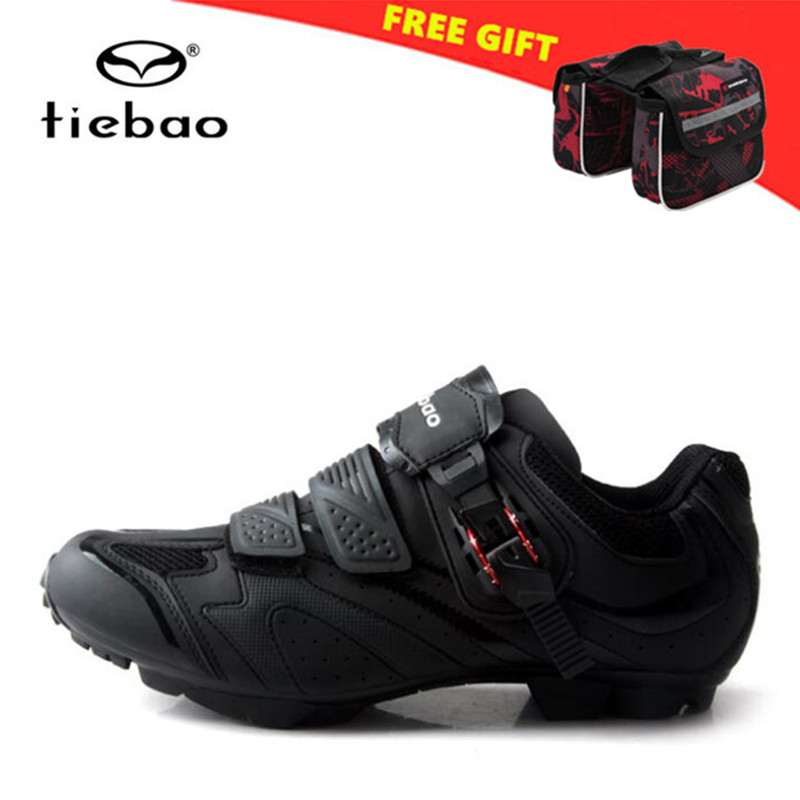 Tiebao Cycling Shoes Men 2018 MTB Bike Shoes Breathable Pro Self Locking Mountain Bicycle Shoes Athletic Zapatillas Ciclismo