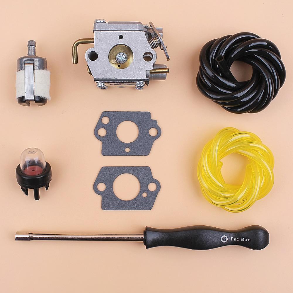 Carburetor Fuel Hose Screwdriver Kit For Walbro WT-827 # 7843 753-05133 753-04333 791-182875 791-182062 ZAMA C1U-P10A C1U-P14A