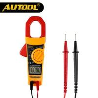AUTOOL DM600 Clamp Meter Multimeter True RMS Auto Short Circuit Tester Car Diagnostic Clamp Multimeters Digital LCD AC DC 1000A