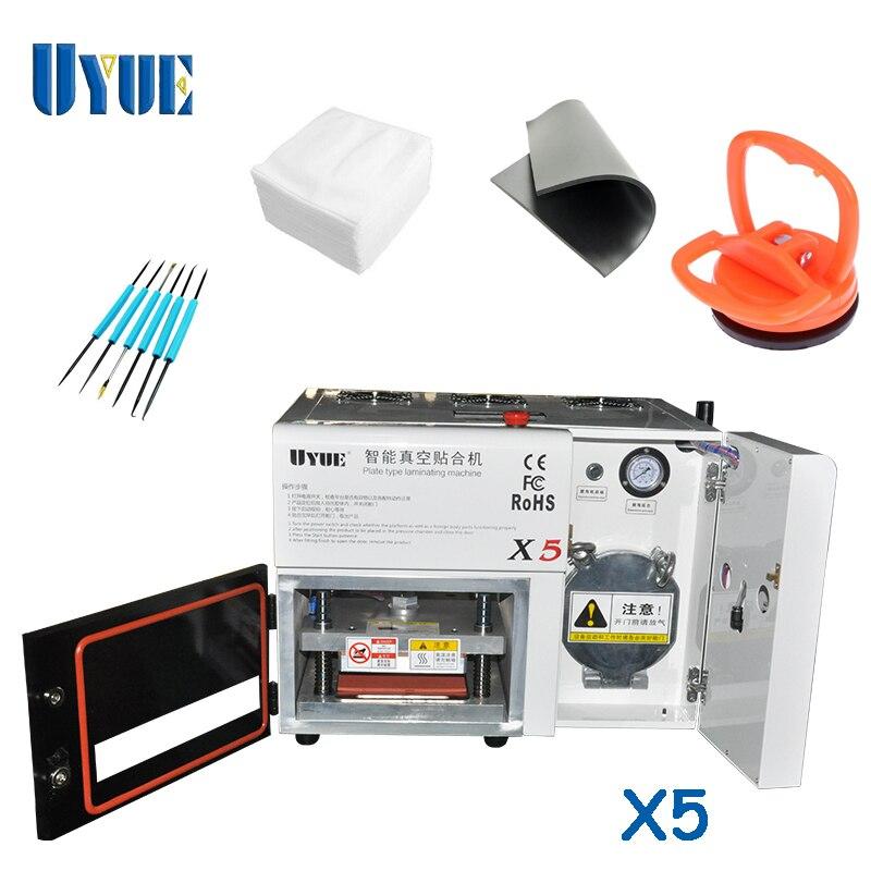 UYUE 110/220V 5 In 1 OCA Automatic Laminator Machine Screen Repair Machine  LCD Refurbish Repair Machine  X5