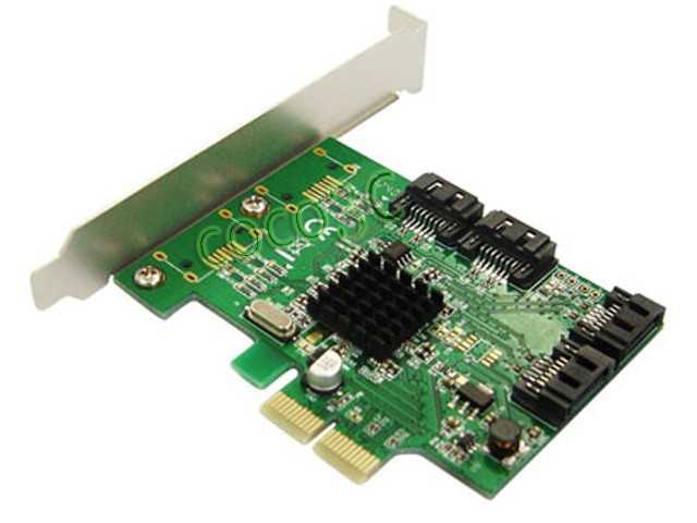 все цены на Marvell Chipset 4 Ports SATA 6Gbps PCI-Express Controller Card PCI-e to SATA 3.0 Converter With PCI Low Profile Bracket