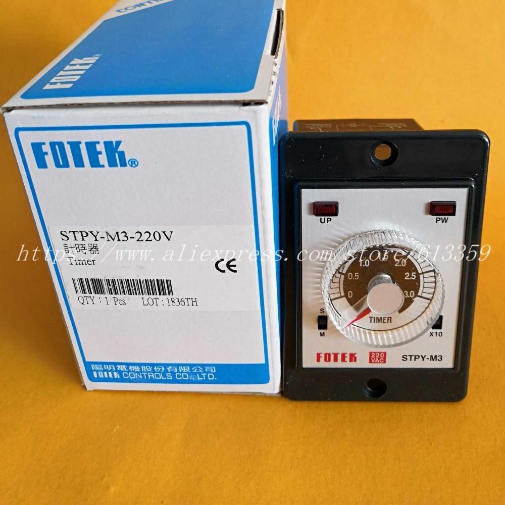 STPY-M3-220V  FOTEK  Timer New & Original STPY-M3  220VACSTPY-M3-220V  FOTEK  Timer New & Original STPY-M3  220VAC