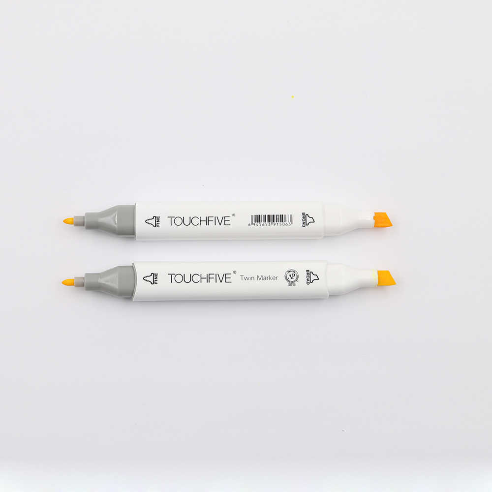 Juego de marcadores de colores TouchFive 30/40/60/80, marcadores de bocetos de doble cabeza, tinta a base de Alcohol aceitoso, materiales de arte profesional para dibujar