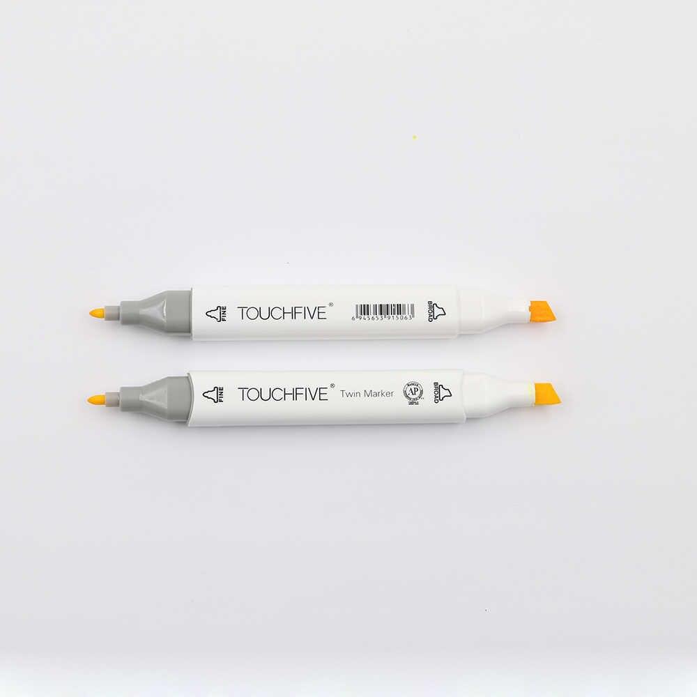 TouchFive 30/40/60/80 renk İşaretleyiciler seti çift başlı kroki İşaretleyiciler yağlı alkol bazlı mürekkep profesyonel sanat malzemeleri çizim için