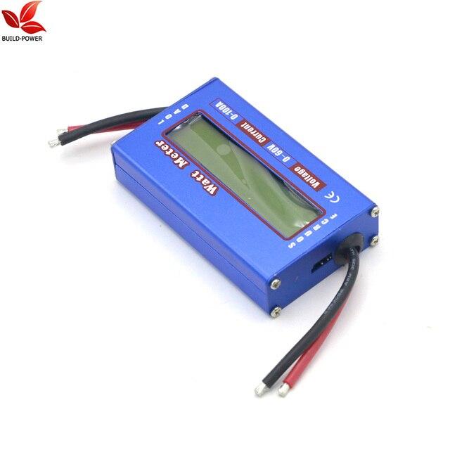 1pcs RC Wattmeter Watt Meter Digital LCD 60V/100A DC Voltage Current Power Balancer Battery Analyze Checker Monitorrc wattmetervoltage checkerbattery balancer