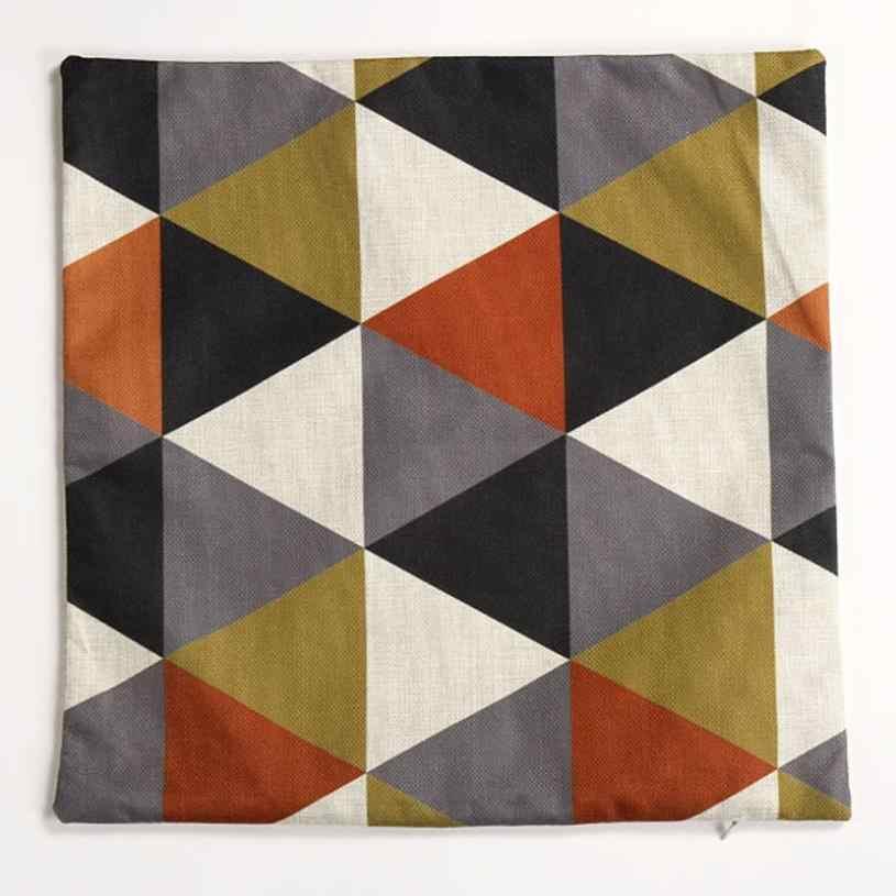 Capa de almofada capa de almofada decorativa 45*45 sentido moderno de moda de nova geométrica almofada coberta