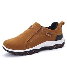 Männer Warme Leder Wildleder Casual Massage Marke Schuhe Herren Slip auf Loafer Schuhe Oxford Mode Schuhe Für Männer Outdoor Zapatos Hombre