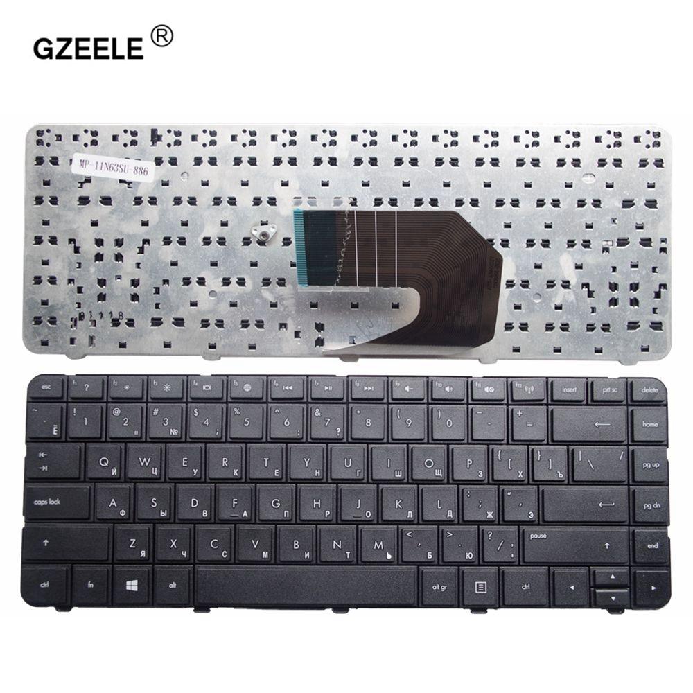 GZEELE Russian Laptop Keyboard For HP AER15700210 AER15700310 AER15700410 AER15700510 MP-10N63SU-920 MP-10N63SU920 AER1570 RU