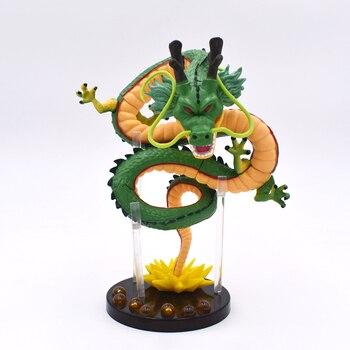 15 سنتيمتر أنيمي الأخضر لعبة دراغون بول Z Shenron سيستدعى ShenLong PVC الشكل العمل النادرة لعبة مجسمة شحن مجاني