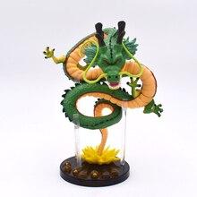15 cm Anime Green Dragon ShenRon ShenLong PVC Action Figure Toy Model da collezione spedizione gratuita