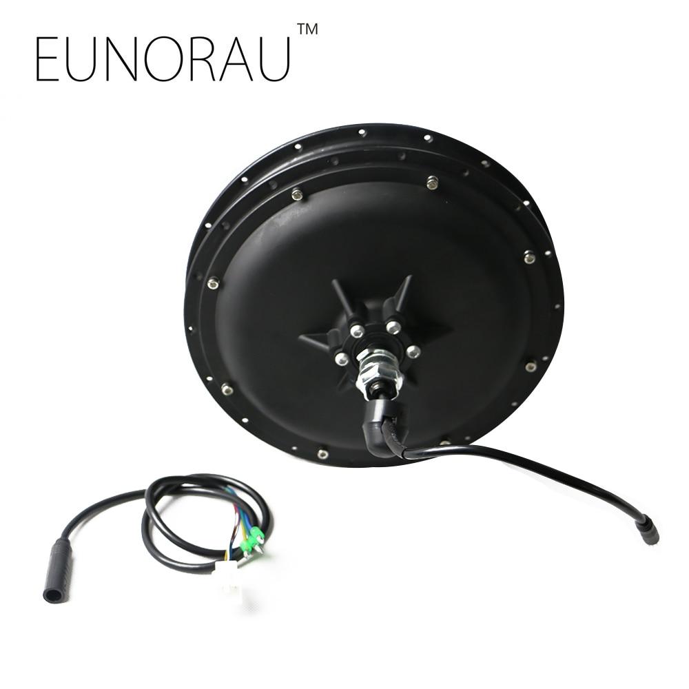 Free shipping 48V1000w rear wheel hub motor for electric bike, e-bike kit