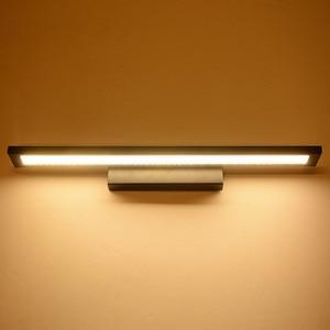 Image 4 - 11W LED Wall light Bathroom Mirror Light Waterproof Modern Acrylic Wall Lamp Bathroom Lighting AC85 265V