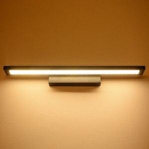 Image 4 - Luz LED de pared de 11W para espejo de baño, lámpara de pared de acrílico moderna resistente al agua, AC85 265V de iluminación para Baño