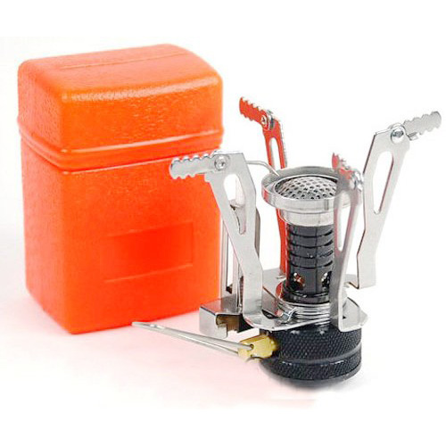 Impartial Good Deal New Ultralight Backpacking Canister Camp Stove With Piezo Ignition 3.9oz