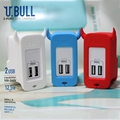 5V 2.0A 1.0A US Plug Dual Double USB Universal Phone Charger AC Power Wall Charger for Home Travel for Iphone 6s for Samsung