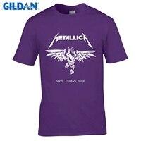 GILDAN Classic Heavy Metal Metallica Rock Men S T Shirt T Shirt For Men 2Short Sleeve