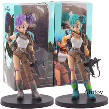 Anime Figure Dragon Ball Z BIG Zoukei Tenkaichi Budoukai 4 Vol.7 Bulma Action Figures PVC Dragonball Collectible Model Toys