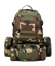 Utility Combination pack Tactical Military Backpack for Hiking Camping Climbing Cycling Outdoor Sport