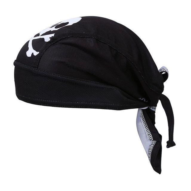 Yeni Siyah Bisiklet Bisiklet Bisiklet Açık Spor Bandana korsan şapkası Kap