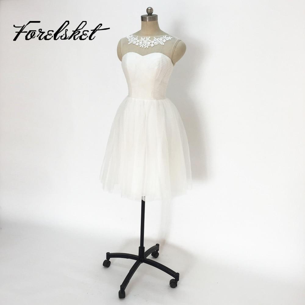 Pretty Short Mint Green Bridesmaid Dresses 2017 Sheer Scoop A-Line Tulle Wedding Party Dresses Maid of Honor Vestidos De Noiva
