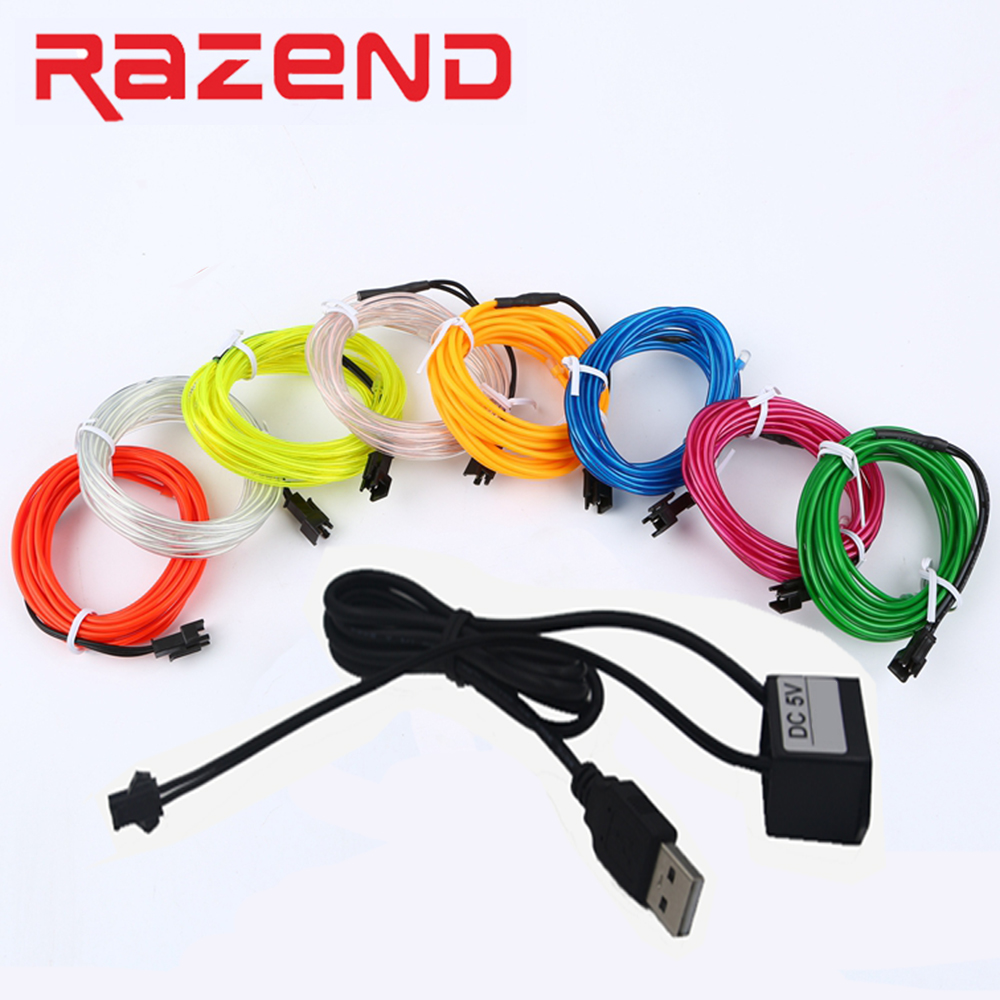 Led Strip 6m Fast Delivery El Wire Usb In Bike Pro