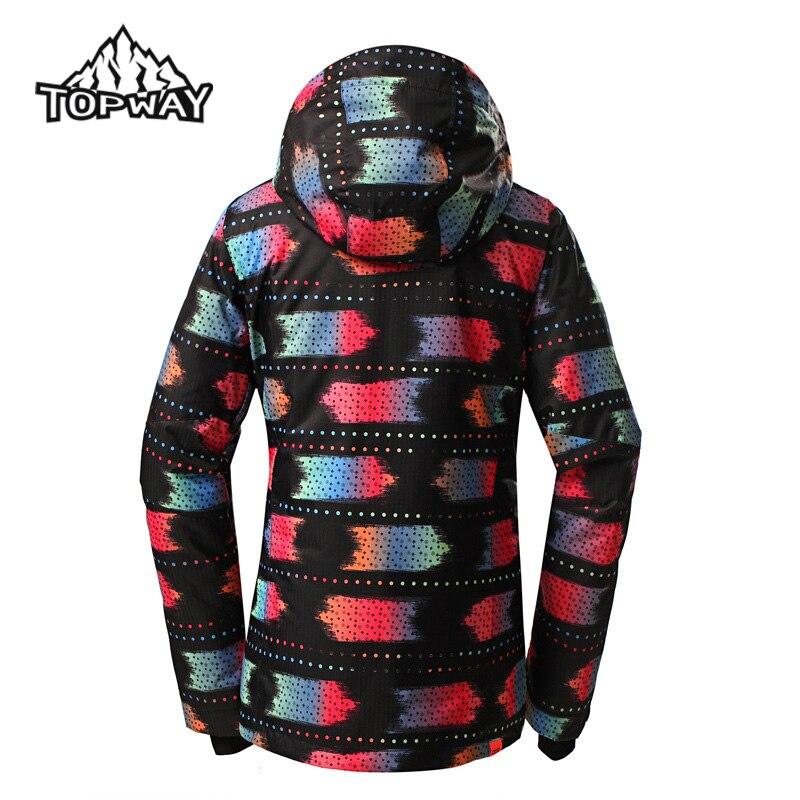 fac76d1fe7 Hot Sale Female Water Resistant Windbreaker Jaqueta Feminina Snow Coat Hard  Wearing Chaquetas Mujer Winter Outdoors Women Jacket-in Basic Jackets from  ...