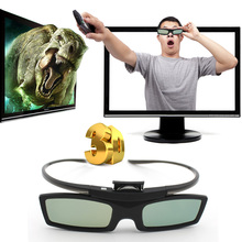 1pc Bluetooth 3D Shutter Active Glasses For Samsung 3DTVs Universal TV 3D Glasses Newest
