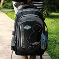 Genuine / multicolor/ergonomic elementary school bag books child/children backpack/portfolio for girls Boy for class /grade 3-6