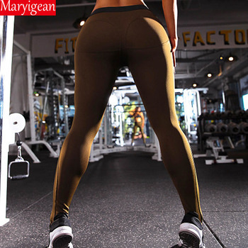 Maryigean Leggings High Quality Low Waist Push Up Elastic Casual Leggings Fitness for Women Sexy Pants Bodybuilding Clothing 8