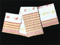 Популярные африканские Хлопок кружевной Материал Вышивка швейцарская вуаль кружево шарф ткань для платье комплект NCS45 (2.5y + 2.5y 2y)